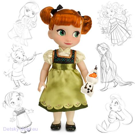 Disney Panenka Anna z Animators' Collection 40 cm