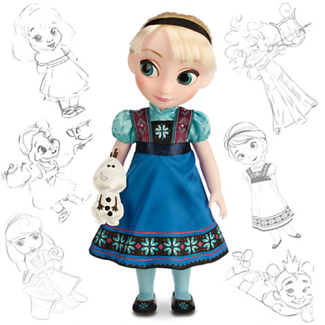 Disney Panenka Elsa z Animators' Collection 40 cm