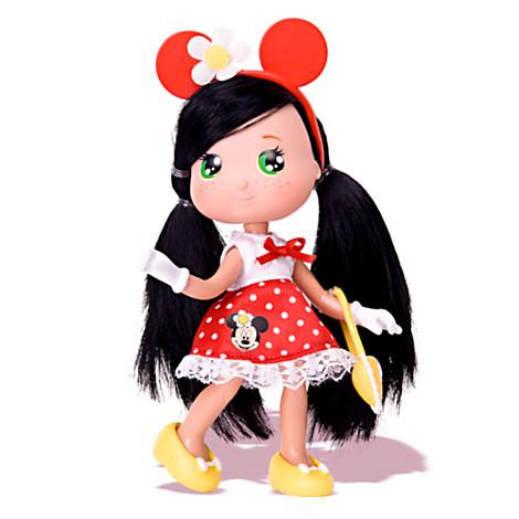 Panenka I love Minnie - červené šaty Panenka 17