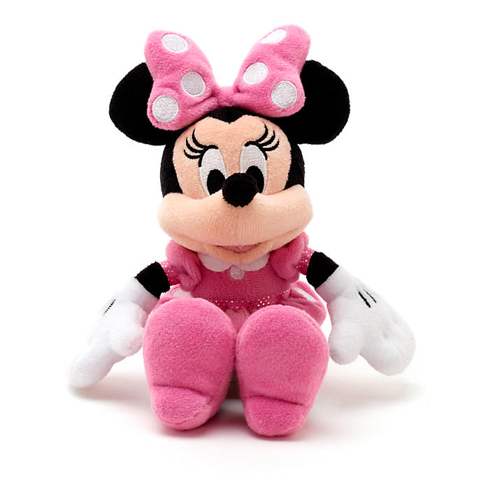 Disney Minnie Mouse mini plyš (Disney Mickeyho klubík)