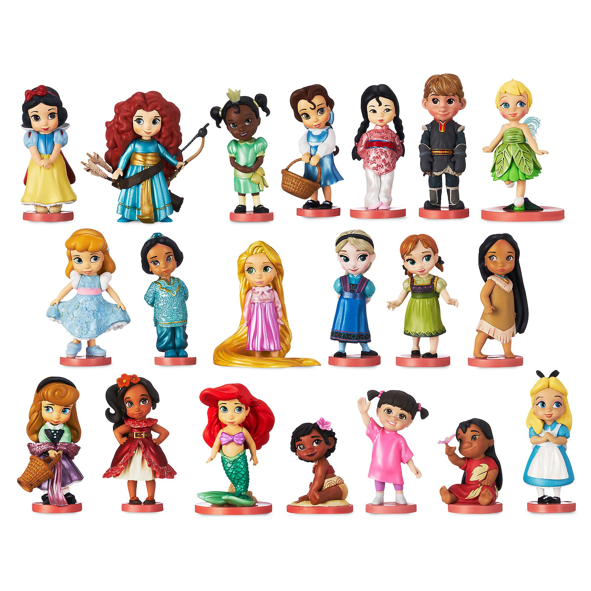 Disney Animators Mega collection figurky - Disney Princezny
