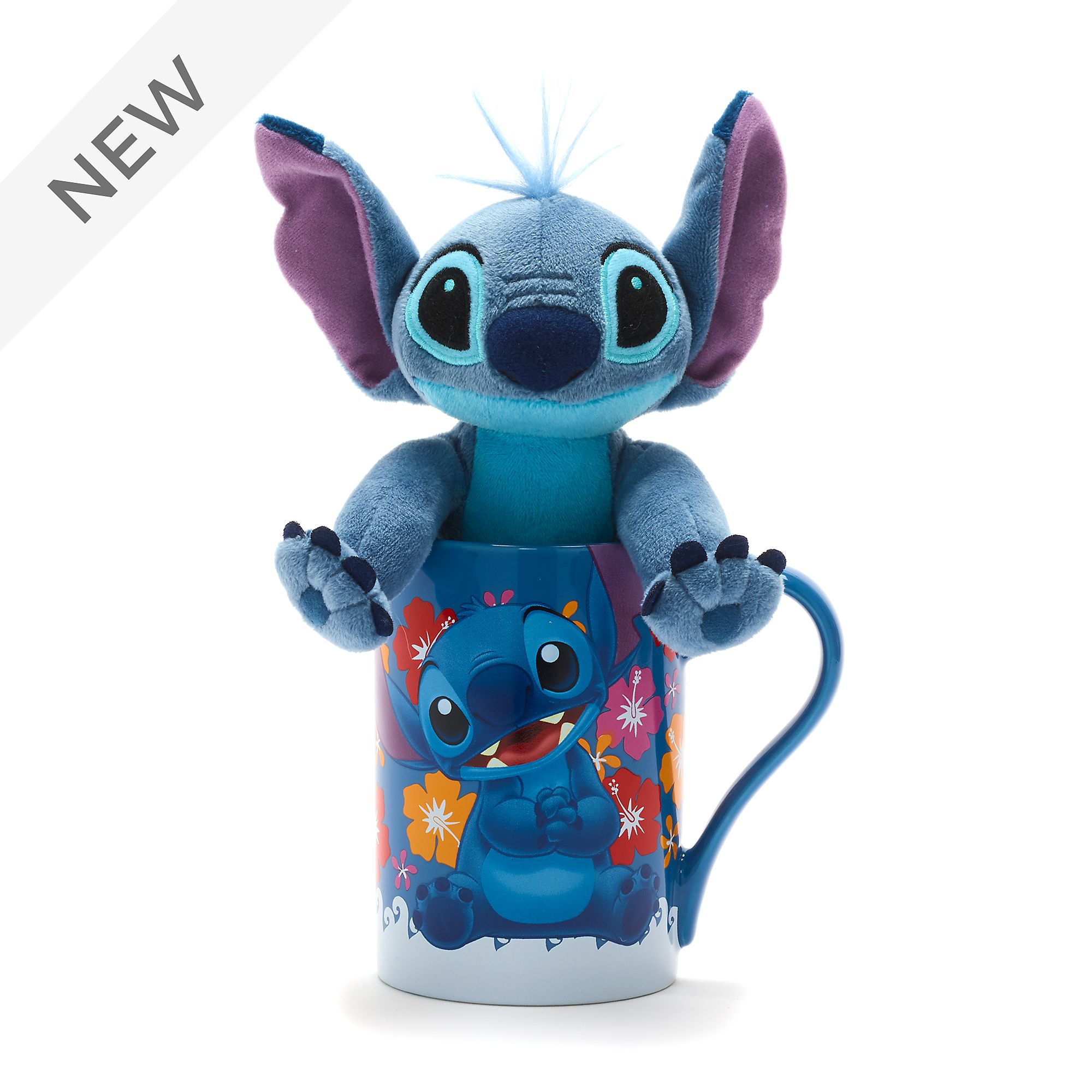 Disney mini plyšák a hrnek Stitch