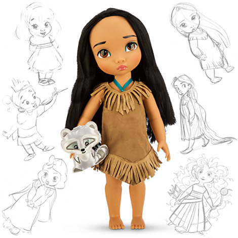 Disney Panenka Pocahontas z Animators' Collection 40 cm