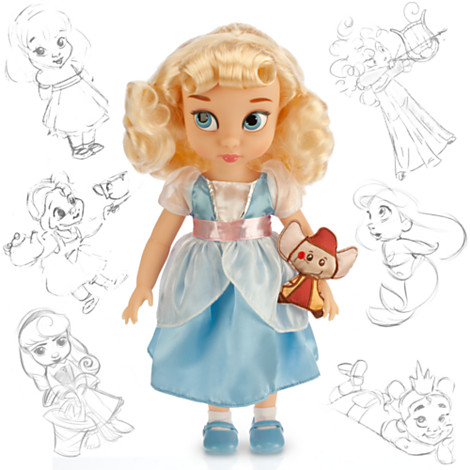 Disney Panenka Popelka z Animators' Collection 40 cm