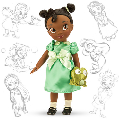 Disney Panenka Tiana z Animators' Collection 40 cm